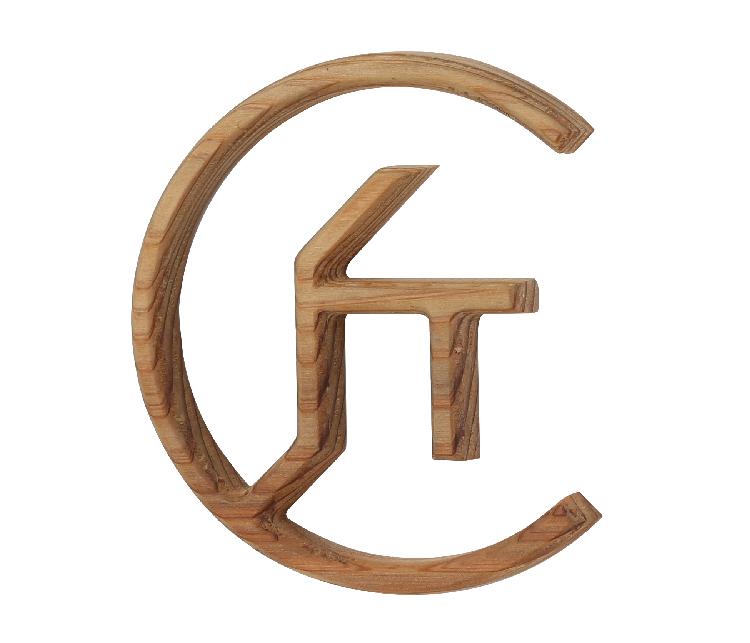 木製切り文字看板
